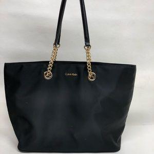 Michael Kors Black Nylon Tote Bag